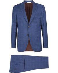 Pal Zileri - Check Two-piece Suit - Lyst