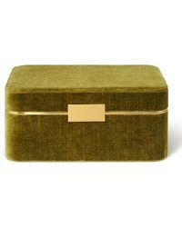 Aerin Beauvais Velvet Jewellery Box
