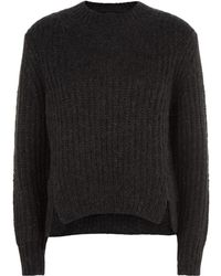 AllSaints | Klash Cropped Sweater | Lyst