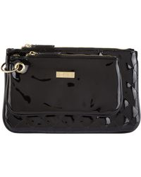 Harrods - Patent Double Pouch Cosmetic Bag - Lyst