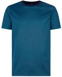 BOSS - Fine Stripe T-shirt - Lyst