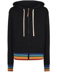 Loewe - Rainbow Printed Zip-up Sweatshirt Hoodie - Lyst