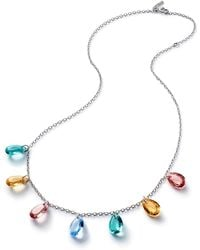 Baccarat - Crystal Drops Of Colour Necklace - Lyst