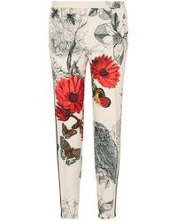 Moncler - Floral Trousers - Lyst