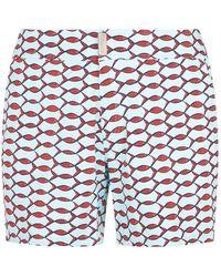 Vilebrequin - Bleu Givre Merise Swim Shorts - Lyst
