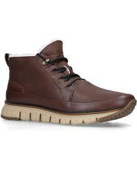 Cole Haan - Zerogrand Rugged Chukka Shoes - Lyst