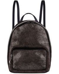 Stella McCartney - Mini Falabella Chamois Backpack - Lyst