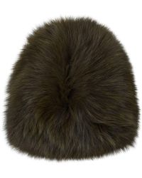 Yves Salomon - Fox Fur Hat - Lyst