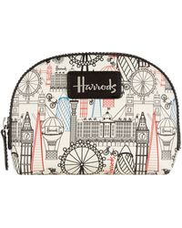 Harrods - Balloons And Bicycles Cosmetic Bag - Lyst