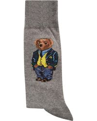 Ralph Lauren - Bear Wearing Blazer Socks - Lyst