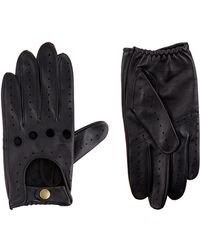 Harrods - Leather Driving Gloves - Lyst