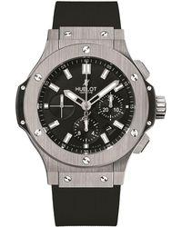 Hublot - Big Bang 44mm Steel Watch - Lyst