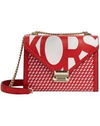 MICHAEL Michael Kors - Logo Whitney Shoulder Bag - Lyst