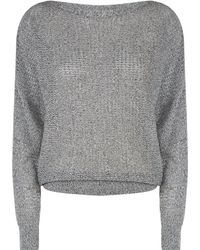 AllSaints - Split Sleeve Sweater - Lyst