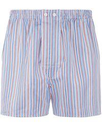Derek Rose - Stripe Boxer Shorts - Lyst