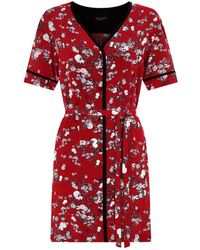 Rag & Bone - Zac Floral Shirt Dress - Lyst