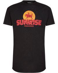 DSquared² - Sunrise Cowboy T-shirt - Lyst