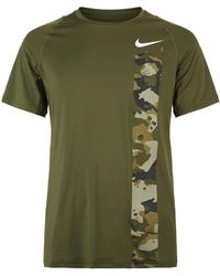 Nike - Pro Camo T-shirt - Lyst