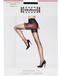 Wolford - Individual 10 Complete Support Tights - Lyst