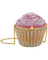 Judith Leiber - Strawberry Cupcake Clutch - Lyst
