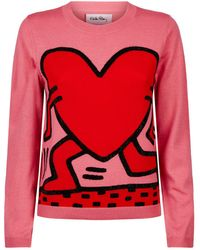 Alice + Olivia - X Keith Haring Connie Jumper - Lyst