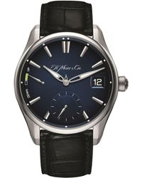 H. Moser & Cie - Pioneer Perpetual Calendar Watch 42.8mm - Lyst