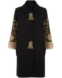 Andrew Gn - Embellished Cocoon Coat - Lyst
