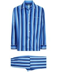 Harrods - Stripe Print Pyjama Set - Lyst