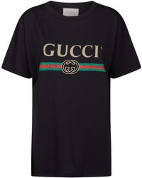 ea78d63b0d4 Gucci Unskilled Worker T-shirt in Pink - Lyst