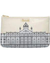 Harrods - Illustrated Building Cosmetic Bag - Lyst