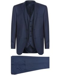 Corneliani | Virgin Wool Three-piece Suit | Lyst
