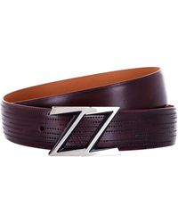 Zilli | Perforated Leather Belt | Lyst