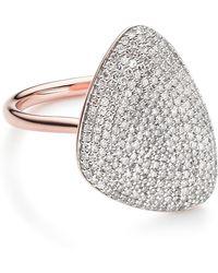 Monica Vinader - Nura Teardrop Diamond Ring - Lyst