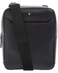 Montblanc - Leather Sartorial Messenger Bag - Lyst