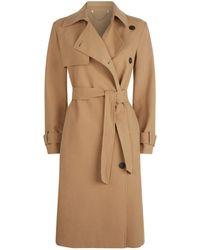 AllSaints - Myla Trench Coat - Lyst
