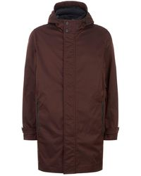 Ted Baker - Stack Hooded Mac Coat - Lyst