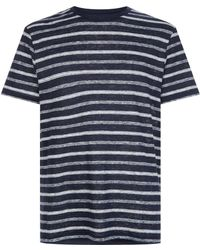 J.Lindeberg - Coma Striped T-shirt - Lyst