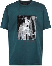 DIESEL - Statue Graphic T-shirt - Lyst
