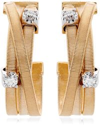 Marco Bicego - Goa Strand Diamond Earrings - Lyst