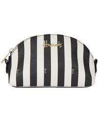 Harrods - Boutique Multi Stripe Small Cosmetic Bag - Lyst