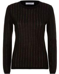 FRAME - Lurex Stripe Sweater - Lyst