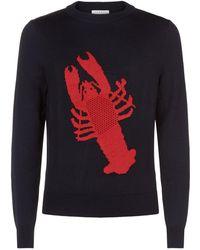 Sandro - Lobster Motif Sweater - Lyst