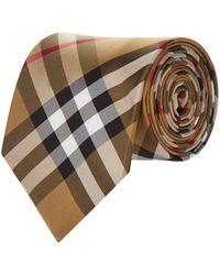 Burberry - Vintage Check Tie - Lyst