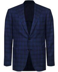Stefano Ricci - Checked Wool-silk Jacket - Lyst