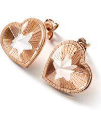Baccarat - Toile De Mon Coeur Earrings - Lyst
