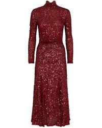 Rachel Gilbert - Trixie Sequined Dress - Lyst