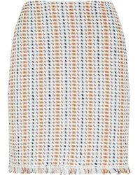 Tory Burch - Hollis Tweed Skirt - Lyst