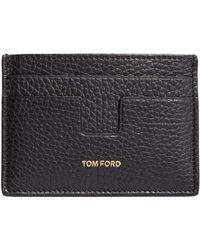 Tom Ford - Leather Card Holder - Lyst