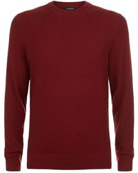 J.Lindeberg - Waffle-knit Sweater - Lyst