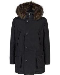 Woolrich - Fur Trim Arctic Parka - Lyst